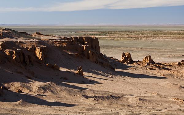 Пустыня Гоби на юге Монголии.