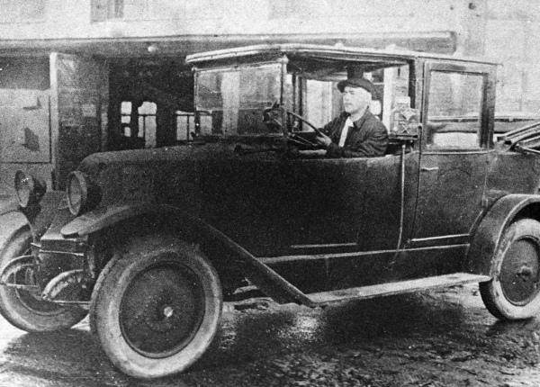 Московское такси, 1925 год.