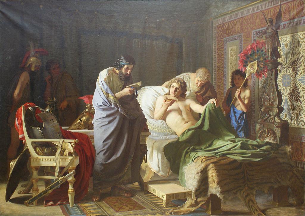 «Доверие Александра к врачу Филиппу» Г.Семирадский.