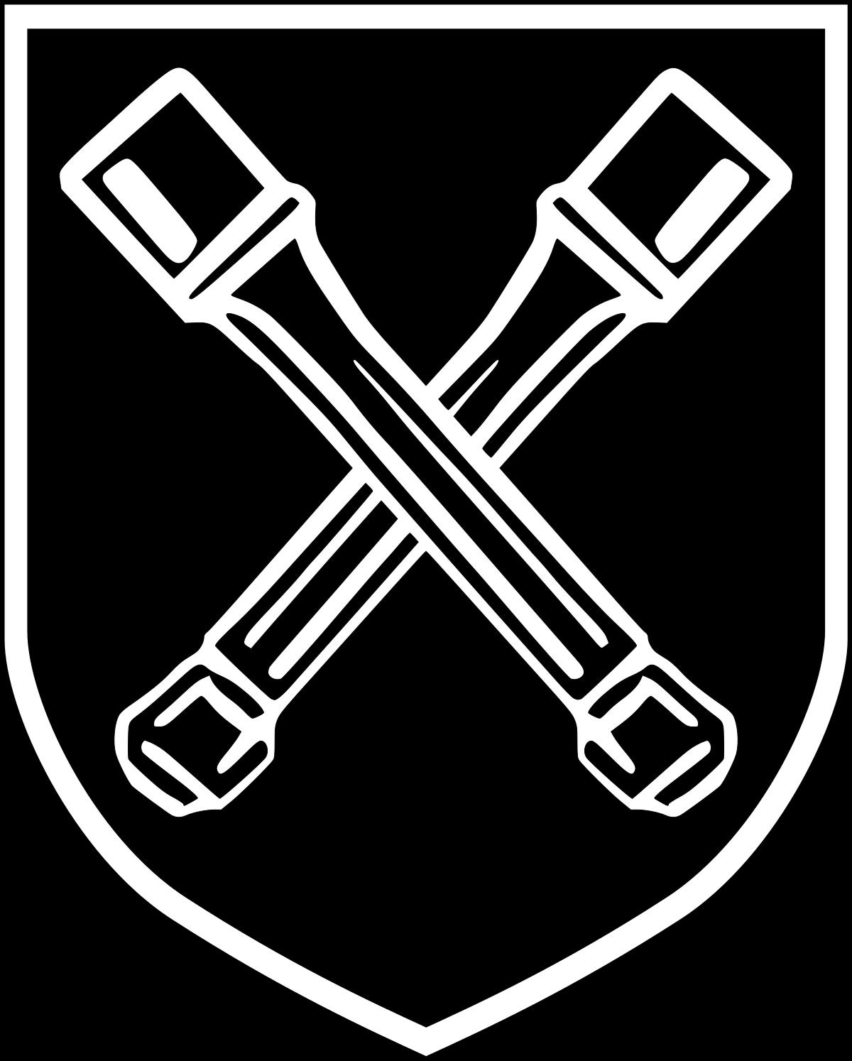 Отличительные знаки подразделения Дирлевангера.