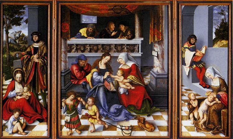 25 Святое Семеиство 1509.jpg