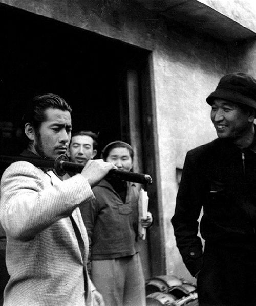 12_Toshiro Mifune on the set of Seven Samurai .jpg