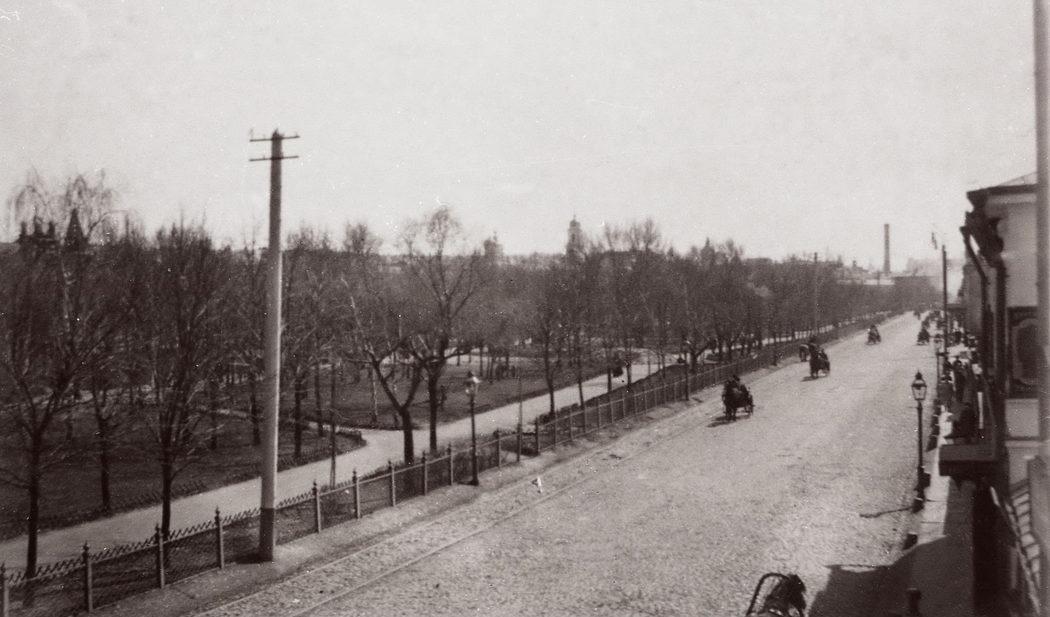Цветной бульвар, на котором располагалась «Черногория».