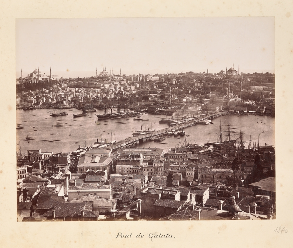 Вид на Галатский мост.