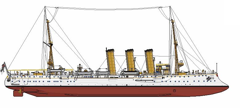 Легкий крейсер «Бремен». <br>