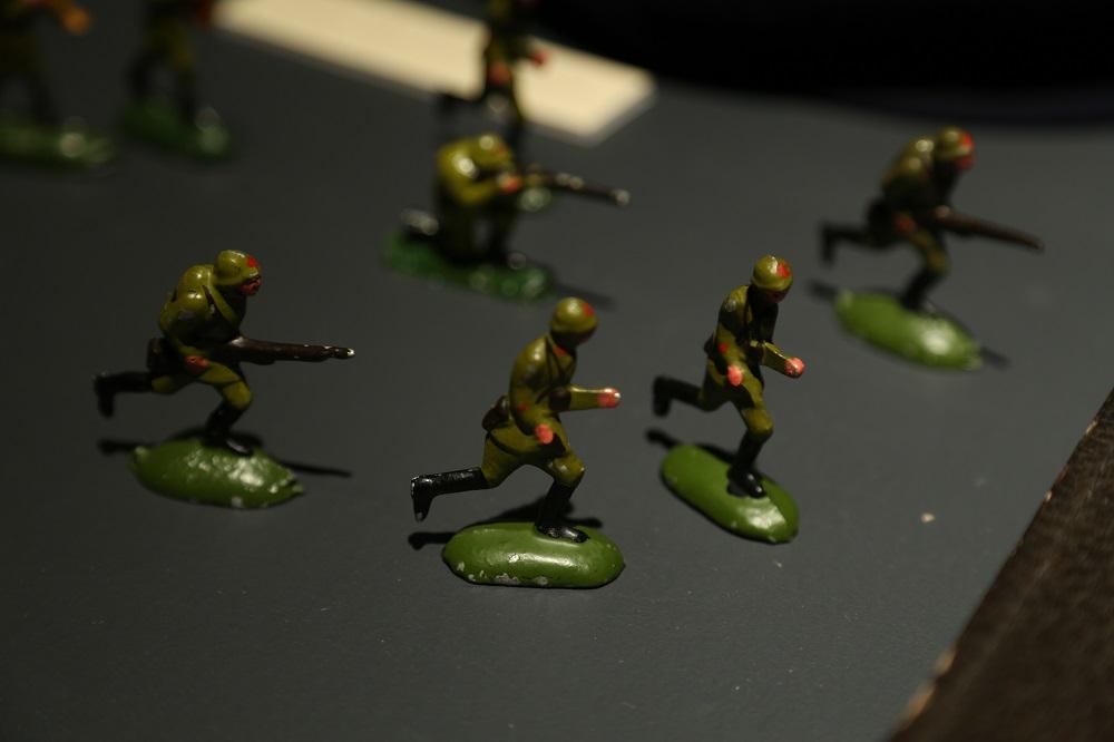 Солдатики-красноармейцы, принадлежавшие Г. С. Эфрону.