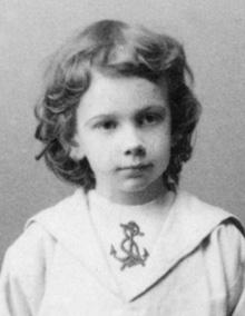 Иван, младший сын Льва Толстого.