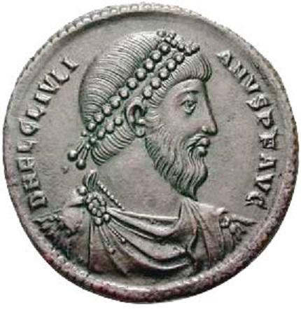 Монета императора Юлиана. <br>