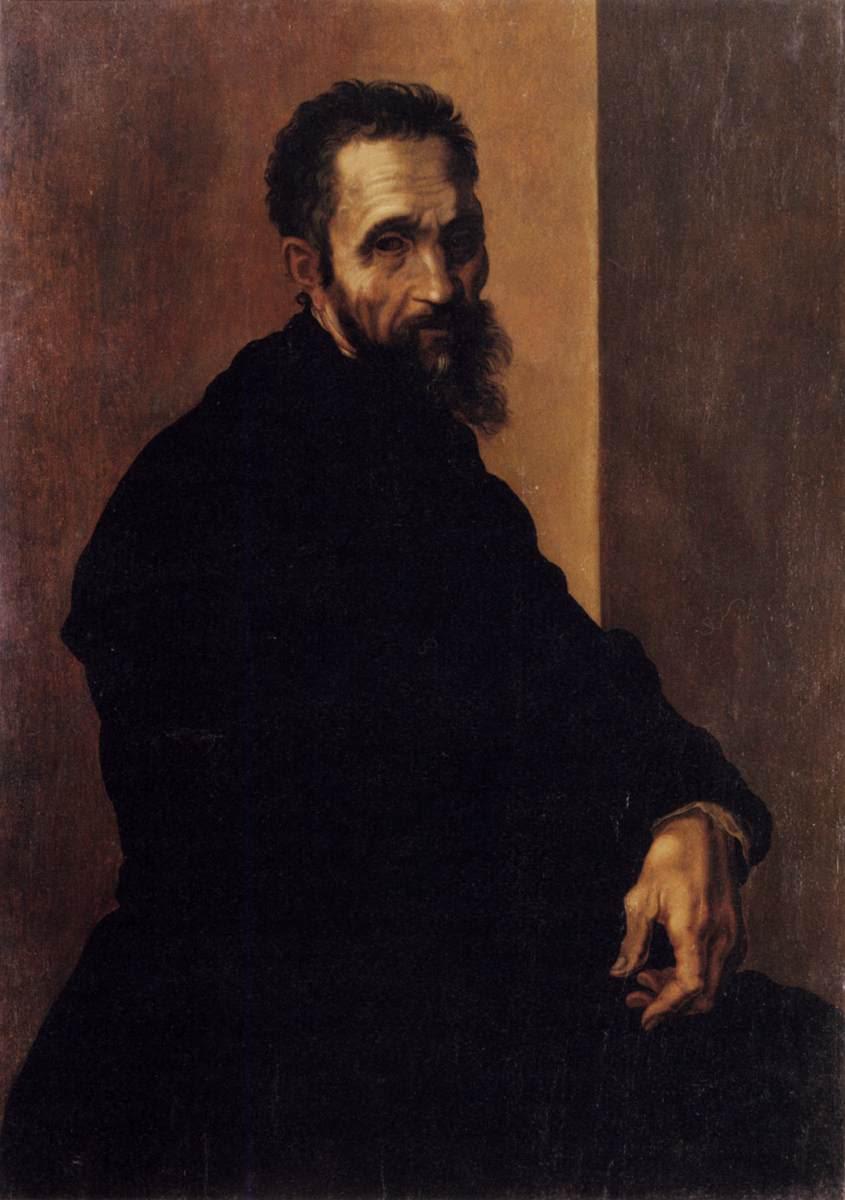 ФОТО 3 Портрет Микеланджело Буонаротти. Якопо дель Конте. 1540 .jpg
