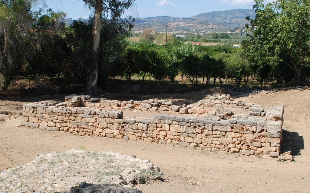 Остатки храма в честь Артемиды вСпарте.