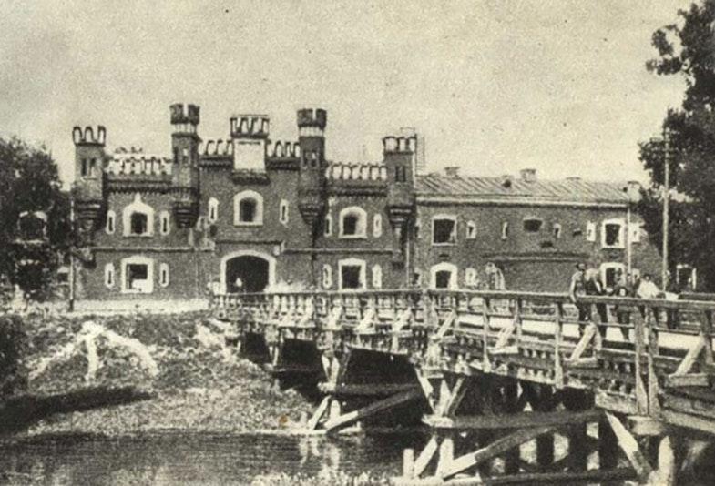 Брестская крепость незадолго до войны. <br>