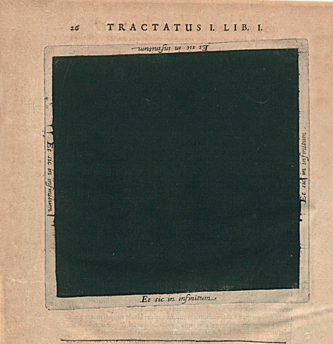 «Великая Тьма» Роберта Фладда, 1617 год