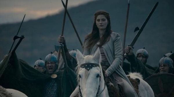 Этельфледа в сериале «Последнее королевство».