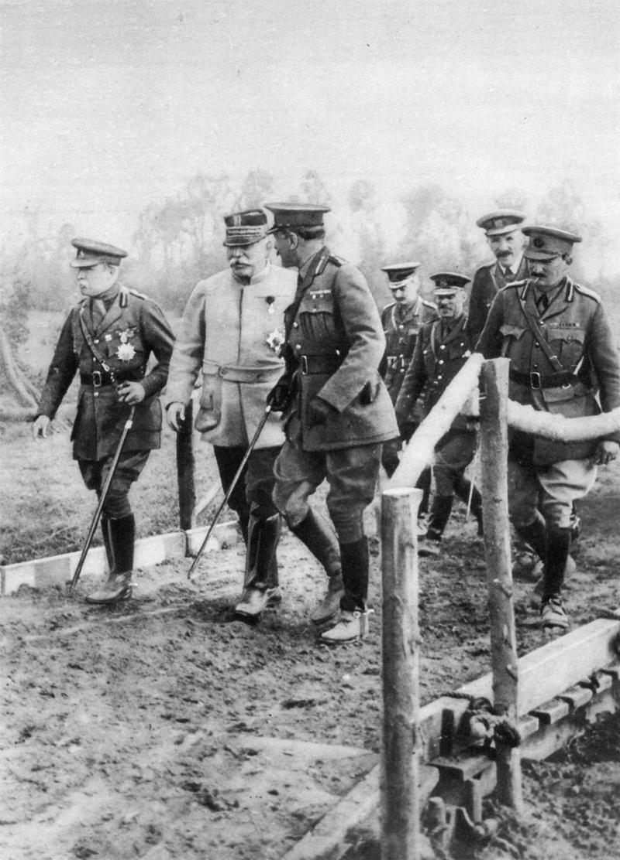 Дуглас Хейг на фронте, 1915.<br>