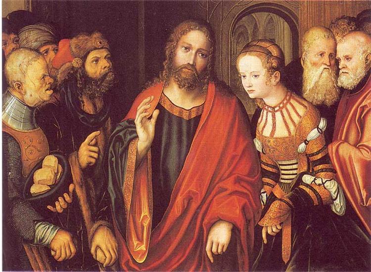 15 Христос И Неверная Жена 1520.jpg