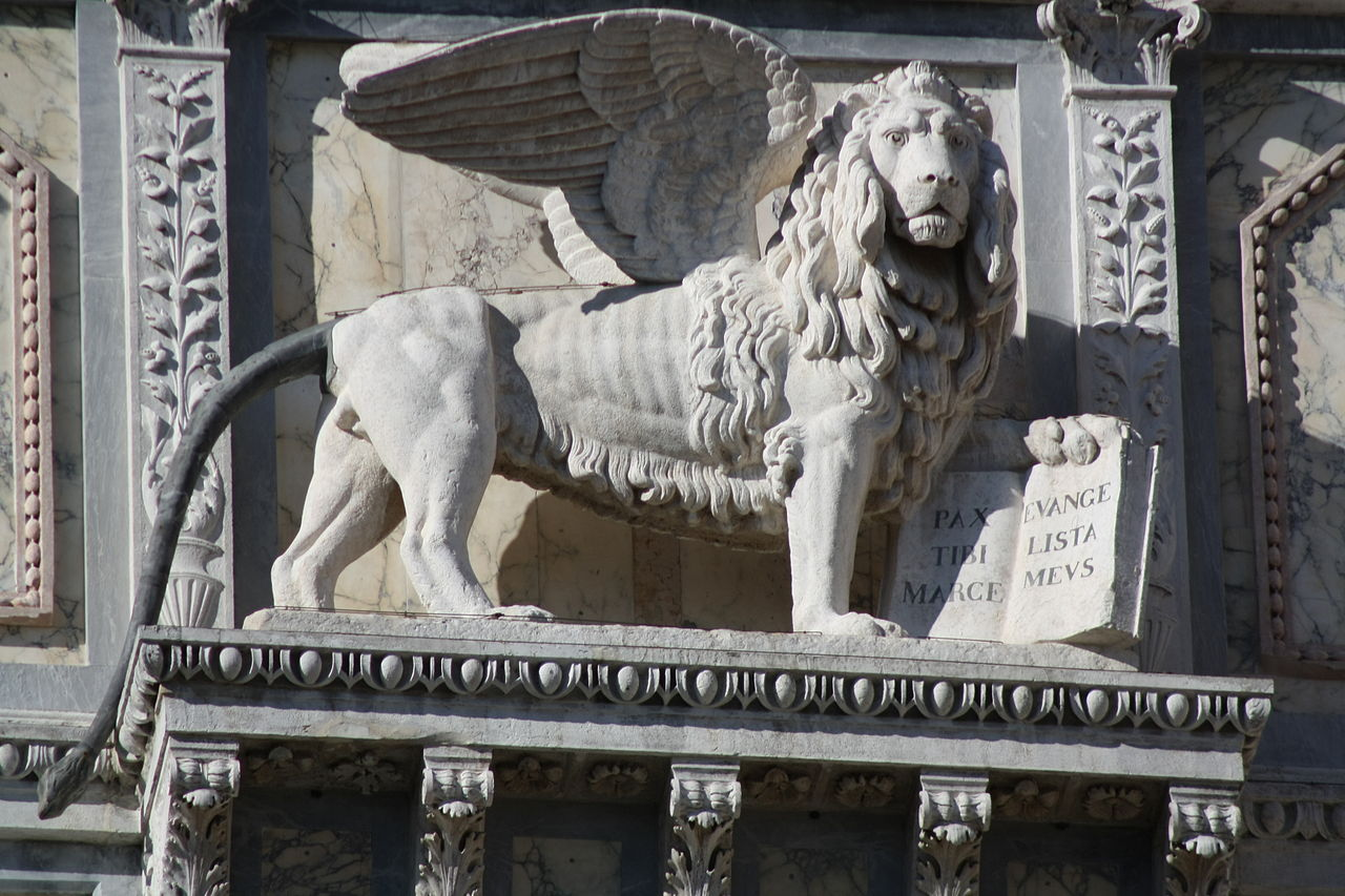 Венецианский лев.