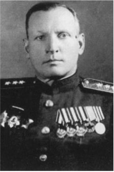 Генерал М. Д. Соломатин в ходе операции «Марс».