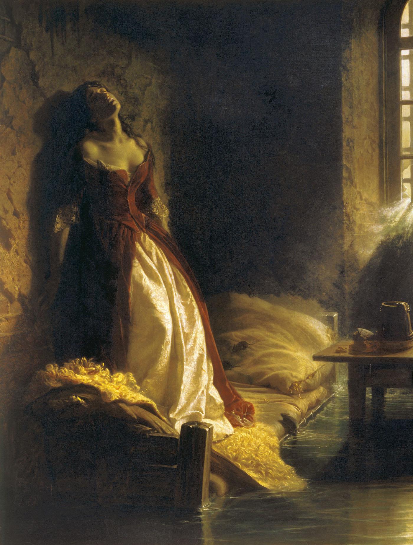 флавицкий княжна тараканова история картины Кристина происходит