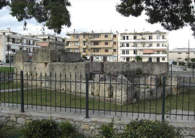 Гробница Леонида в наши дни.