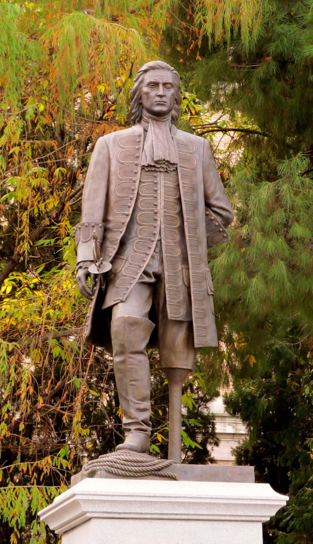 Памятник адмиралу Бласу де Лесо вМадриде.