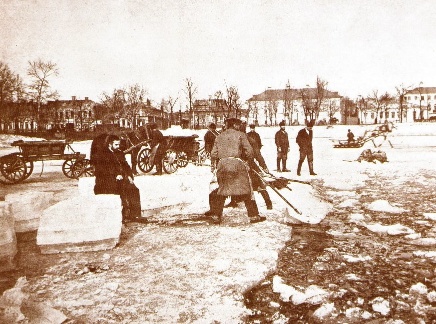 Краснопресненские пруды, Москва. <br>