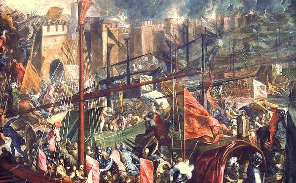 Разграбление Константинополя.