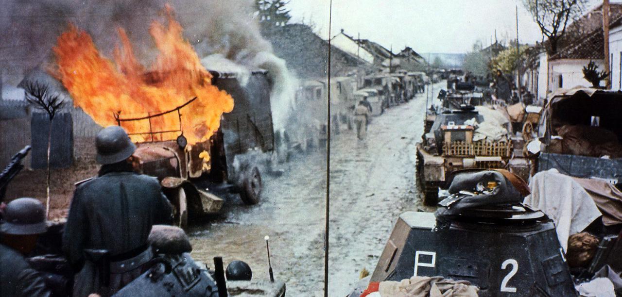 Немецкие танки в СССР, июнь 1941г. <br>