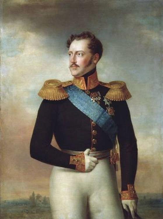 Николай I. Вильгельм Голике, 1843.
