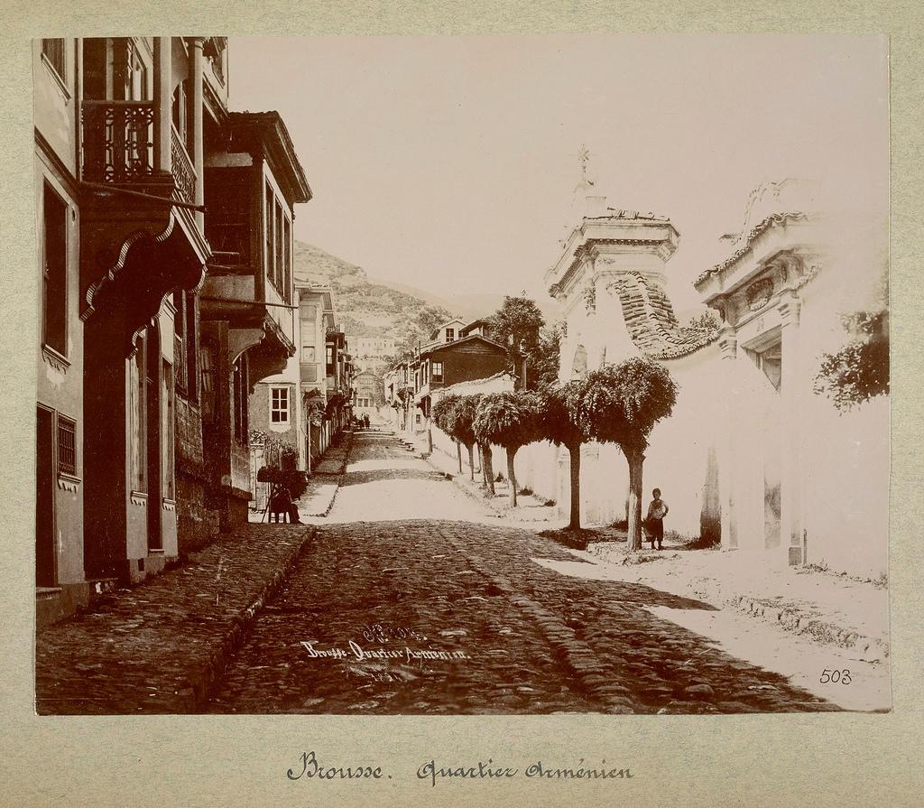 Армянский квартал Константинополя, 1894.