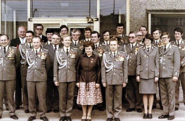 Сотрудники Штази, 1980-е гг. <br>
