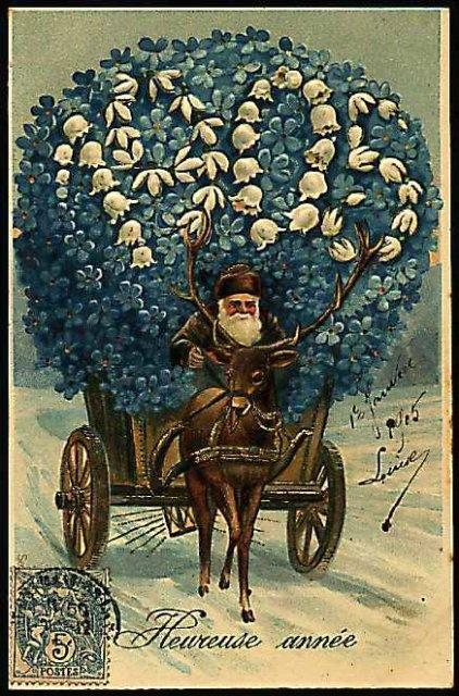 Умничка молодец, открытки новогодние 19 век