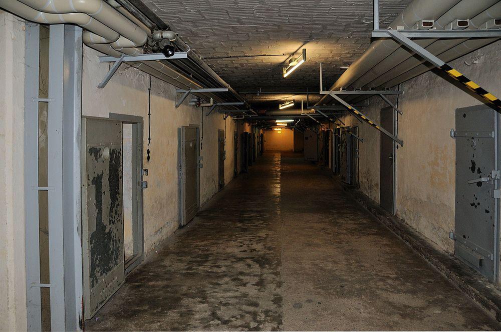 Тюрьма Штази в Берлине. <br>