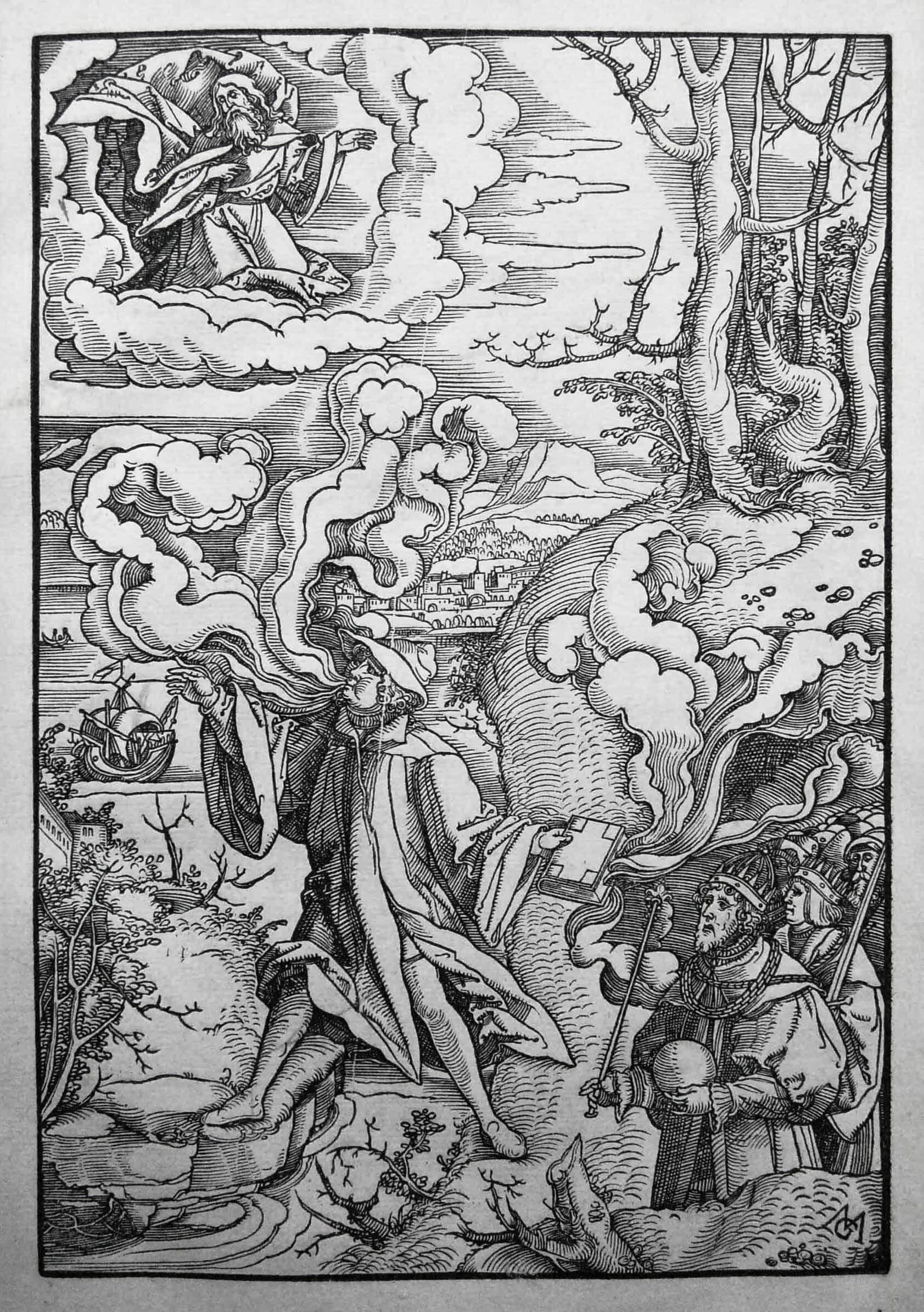 Маттиас Герунг. Аллегория, ок. 1544.