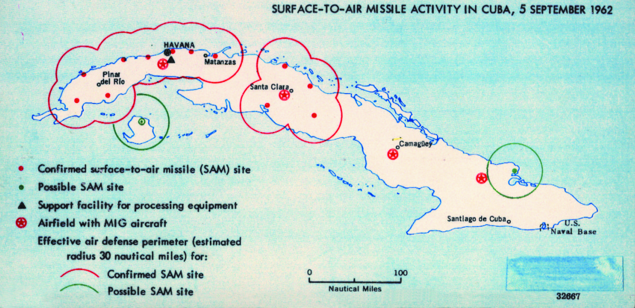 Фото 9. Map created by American intelligence showing Surface-to-Air Missile activity in Cuba 5 September 1962.jpg
