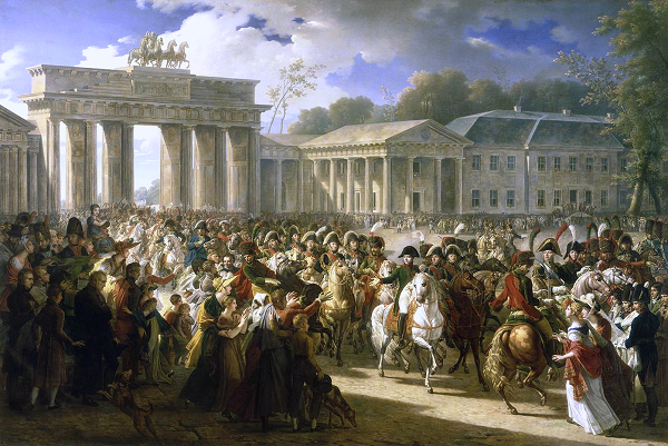 Французы в Берлине.