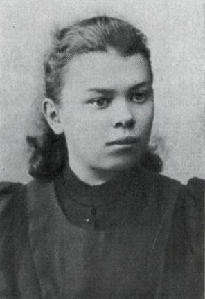 Мария Ульянова в 1895 году.