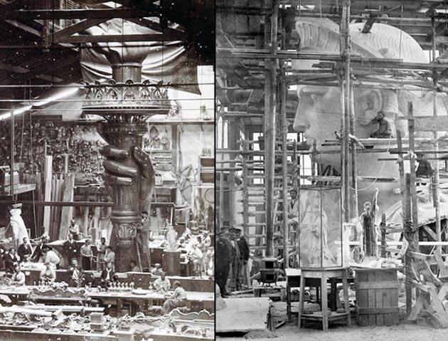 Студия в Париже, 1876 год и 1880 год.jpg