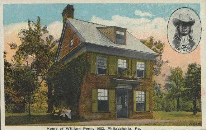 Дом Пенна в Филадельфии.