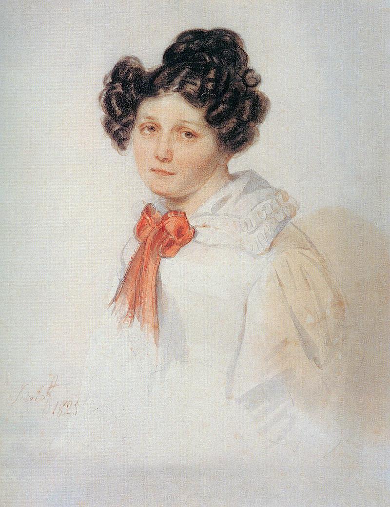 Портрет Жанетты Полины Гебль работы Петра Соколова, 1825 год.jpg