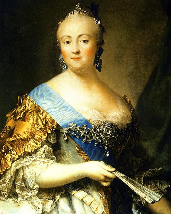 Портрет Елизаветы Петровны работы Виргилиуса Эриксена, 1757 год.jpg