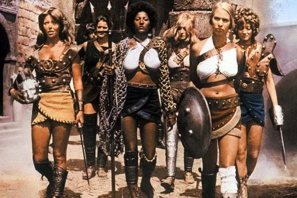 Женщины-гладиаторы в фильме «Арена», 1974 год.