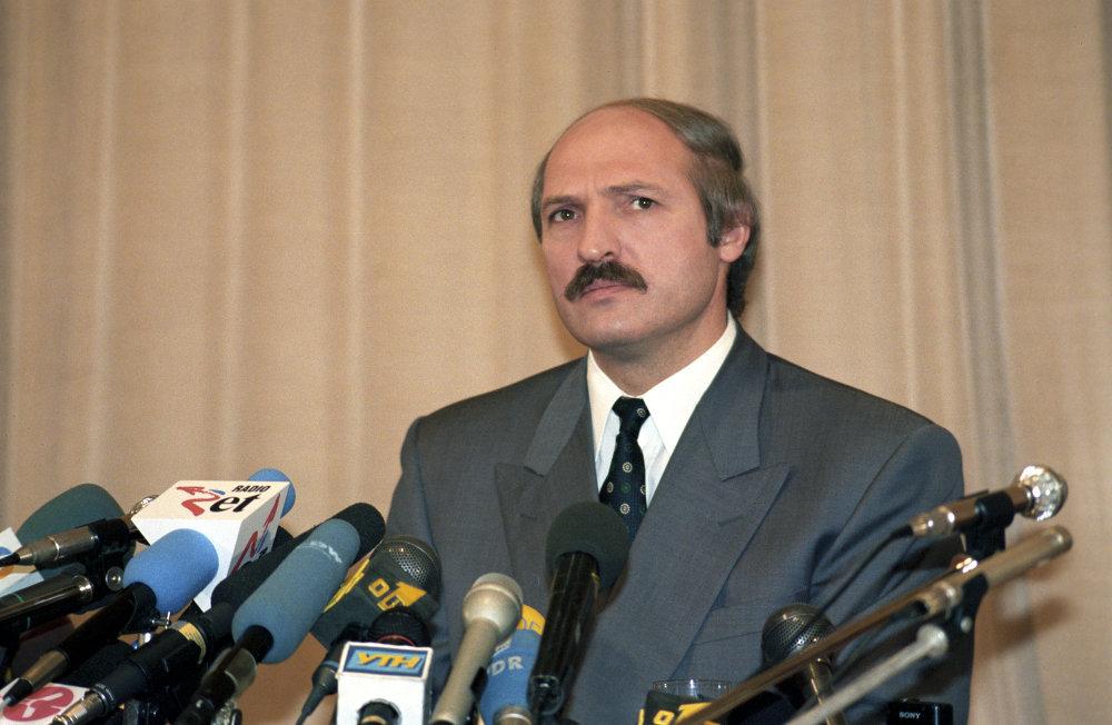 Александр Лукашенко, 1996 г.