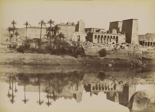 5_Temple of Isis on the island of Philae. 1880s.jpg