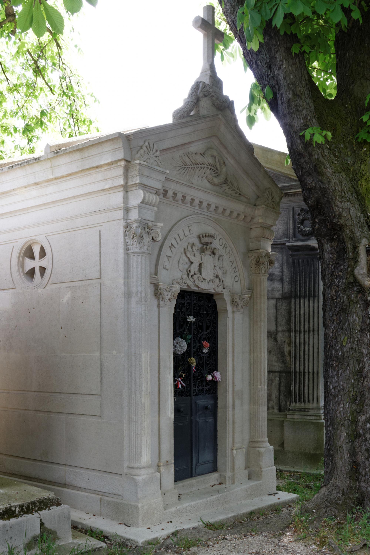Гробница Марии на парижском кладбище Пер-Лашез. <br>