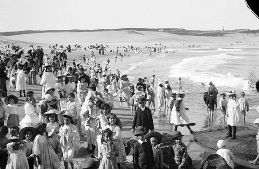 Залив Бонди, Австралия, 1901 год.jpg