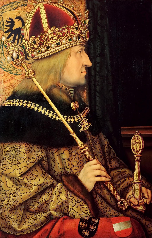 Император Фридрих III Габсбург. <br>