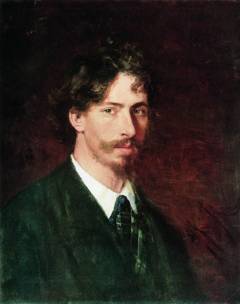 Репин, автопортрет, 1878.