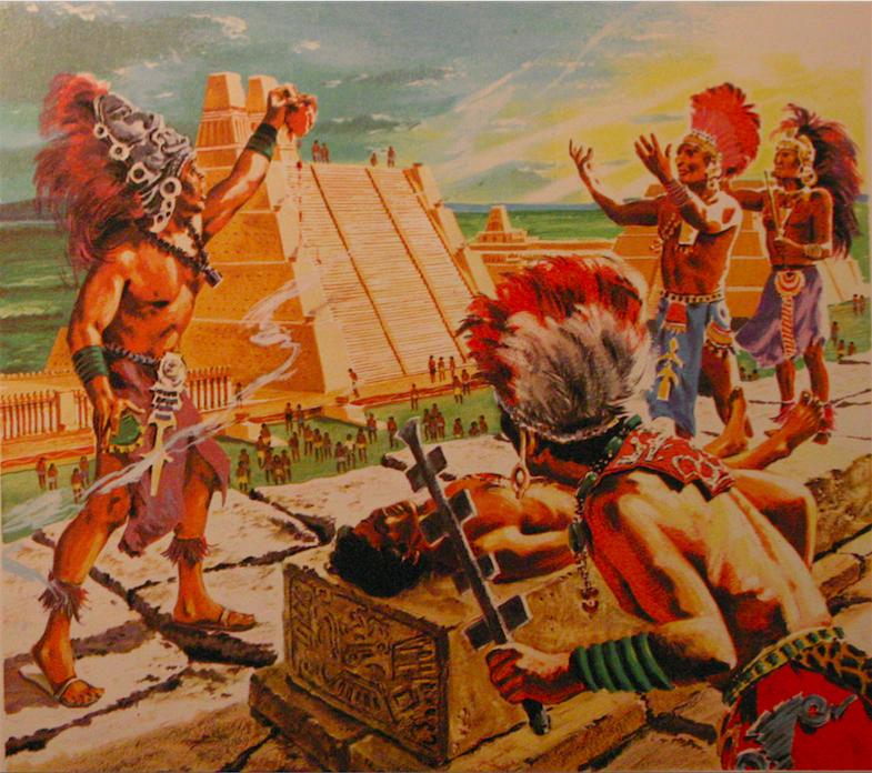 Город смерти Теночтитлан