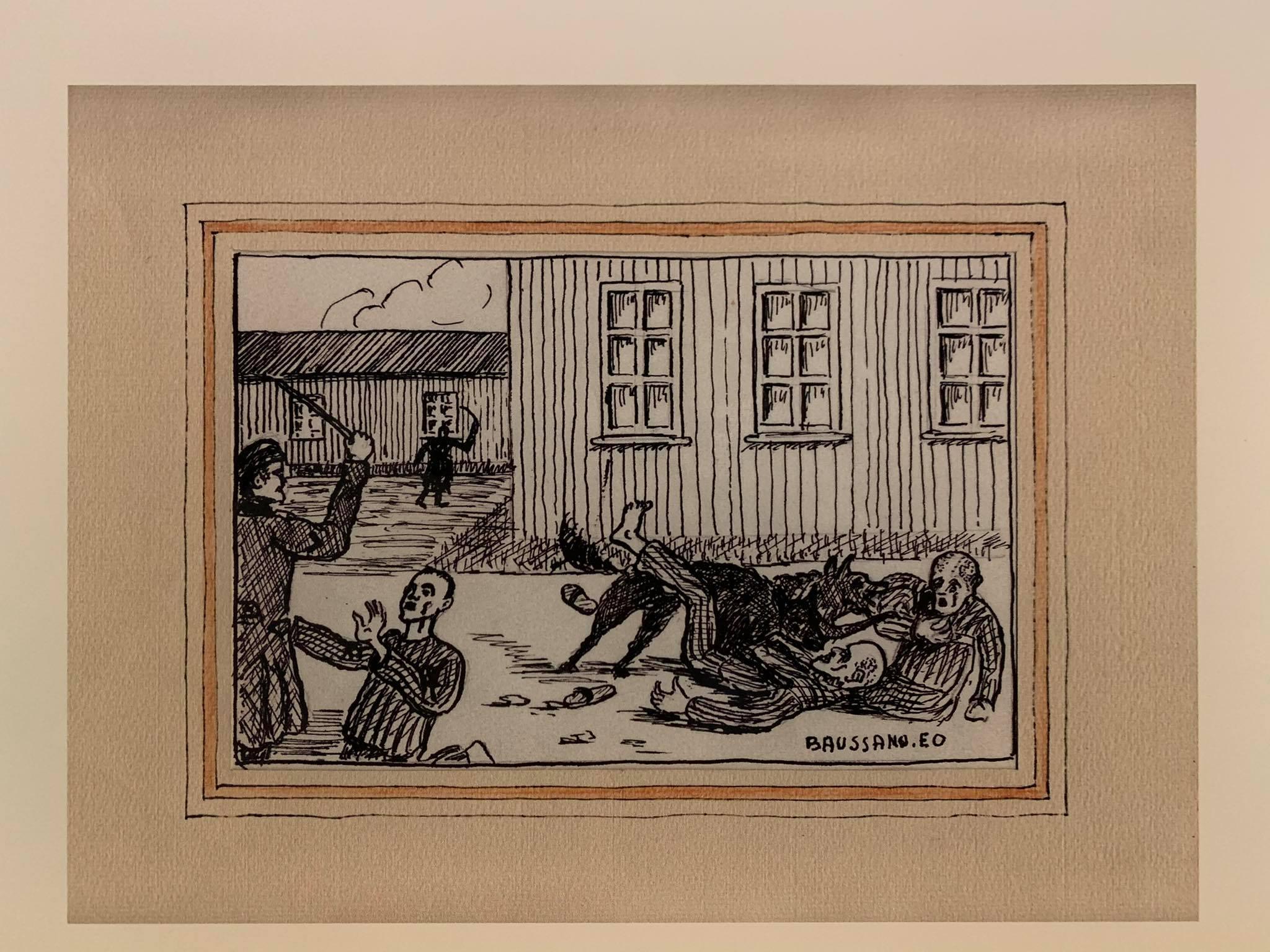 Рисунок заключённого.