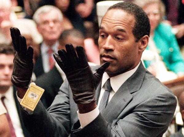 Oj simpson glove